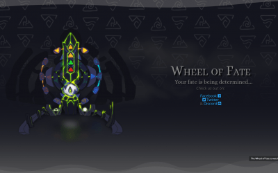 SPORE Productions Builds Teaser Site For Wheel Of Fate PC Game